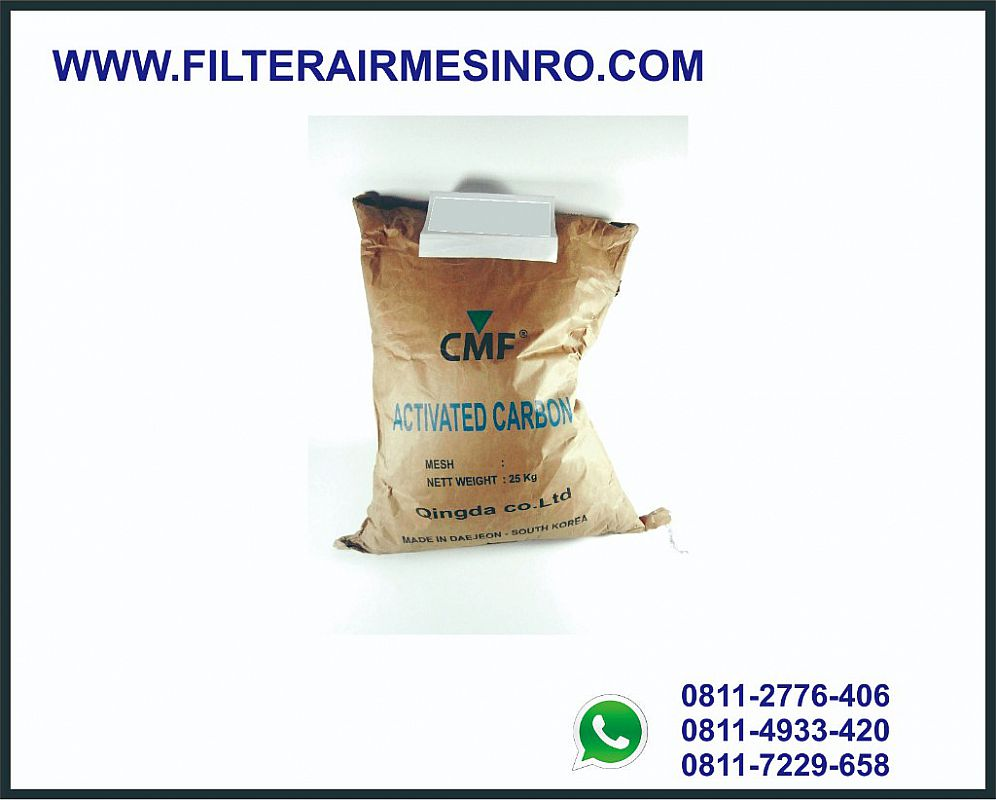Activated carbon | Media karbon aktif granular CMF